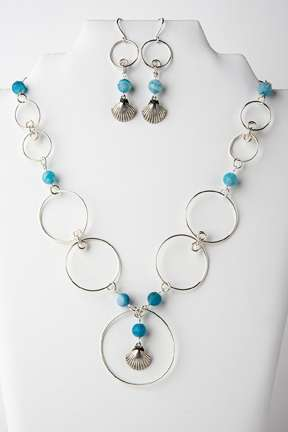 Circles In The Sand,Gemstones,Wire,Charms,Beads