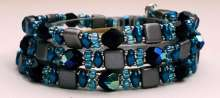 Waterfall Wrap by Valerie Catallozzi©2020, Beginner, Simple Stringing, Bead Stringing